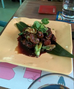 Tenderloin cube steak, at Guppy by Ai