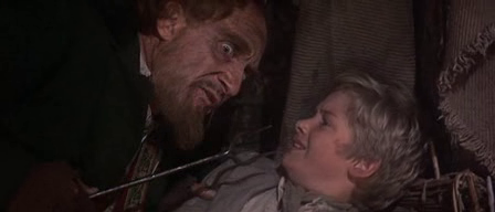 Ron Moody as Fagin in Oliver!