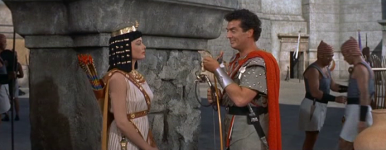 The princess has a chat with Horemheb