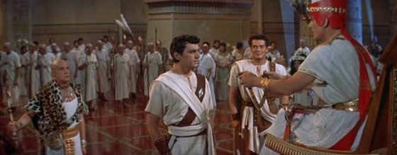 Pharaoh appoints Sinuhe royal physician