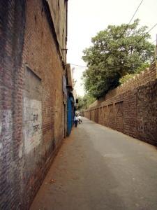 Part of the city wall, near Kashmiri Darwaaza.