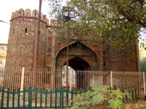 A view of Dilli Darwaaza.