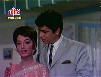 Sadhna with Sanjay Khan in Intequam