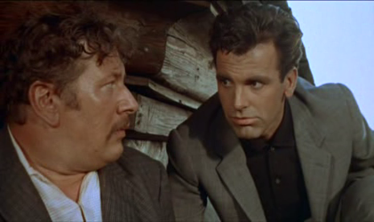 Peter Ustinov and Maximilian Schell in Topkapi