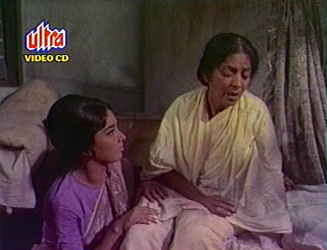 Rita with her ailing Mum