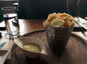 Calamari fritti at The Hungry Monkey.