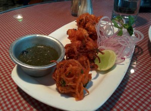 Kolmi Fry (Parsi style fried prawns) at Soda Bottle Opener Wala.