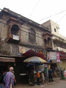 Zeenat Mahal, built by Bahadur Shah Zafar's Empress. The emperor stayed here now and then.