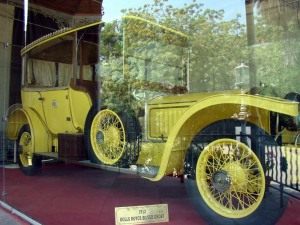 The 1912 Rolls Royce Silver Ghost at the Buggee Khana.