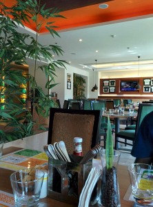 Citrus: a view at breakfast.