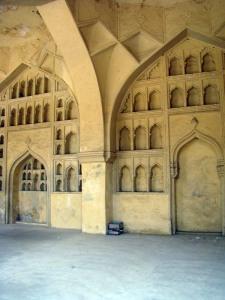 The 'makeup rooms' of Taramati and Premamati.