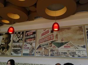 At Krispy Kreme.
