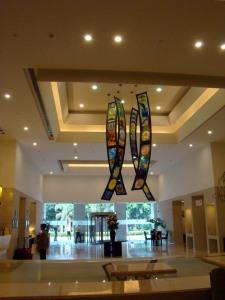 The lobby at Lemon Tree Premier.