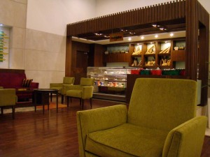 The Tea Lounge at Lemon Tree Premier.
