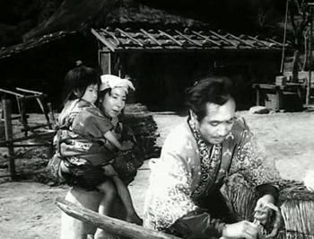 Genjuro prepares to go to Nagahama
