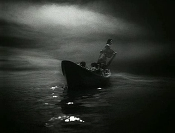 A frame from Ugetsu