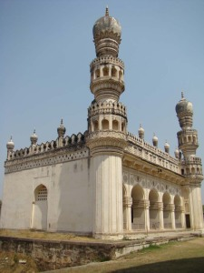 The Janaaza Masjid beside the tomb of Hayat Baksh Begum.