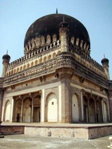 The tomb of Mohammad Qutb Shah, father of Hayat Baksh Begum.