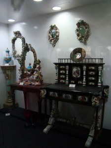 The writing table of Louis XV, at the Salarjung Museum.