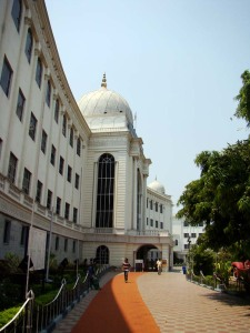 The Salarjung Museum building.