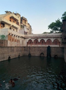 The baoli of Nizamuddin Auliya.