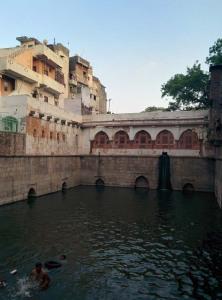 The baoli of Nizamuddin Auliya.
