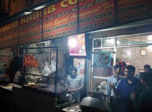 At Ghalib Kabab Corner.