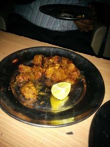 Mutton tikka at Ghalib Kabab Corner - beautifully tender and delicious.