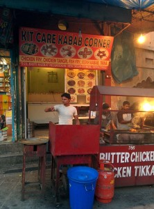 The oddly named (but very good) Kit Care Kabab Corner.