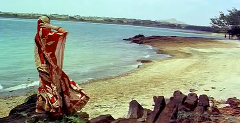 A frame from Pakeezah
