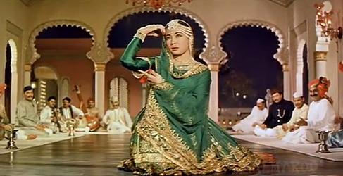 Meena Kumari in Pakeezah