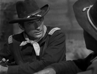 Gregory Peck as Captain Richard Lance, in Only the Valiant