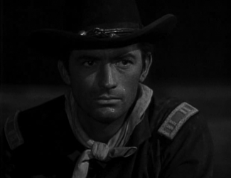 Gregory Peck in Only the Valiant