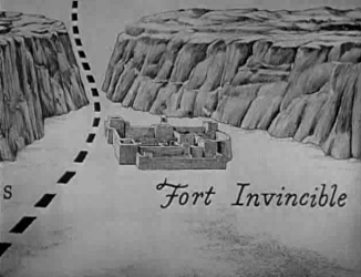Fort Invincible, holding the pass