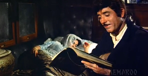 Salim encounters a sleeping Sahibjaan
