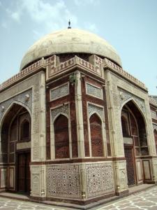 Atgah Khan's Tomb in Nizamuddin Basti.