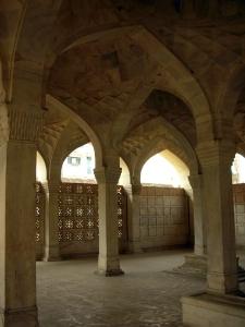 Inside Chaunsath Khamba.