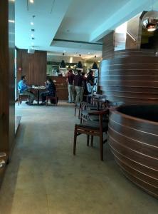 Inside Indigo Deli.