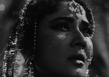 Meena Kumari as Naaz in Ghazal