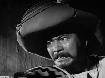 Toshiro Mifune in and as Animas Trujano