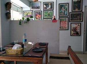 Inside Rosang Cafe.