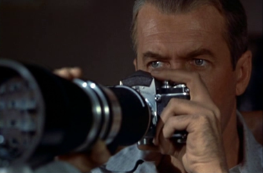 James Stewart as LB Jefferies 'Jeff' in Rear Window
