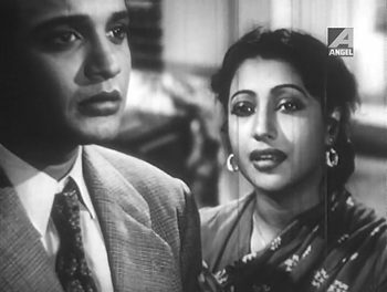 Uttam Kumar and Suchitra Sen in Sagarika
