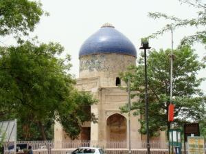 A view of Sabz Burj.