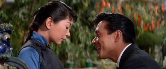 James Shigeta and Miyoshi Umeki in Flower Drum Song