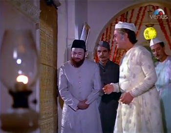 The vakil and the witnesses arrive to ask for Zeenat's consent