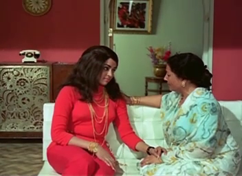 Rekha talks to her mother...
