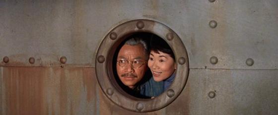 Mei Li and Dr Li arrive in San Francisco