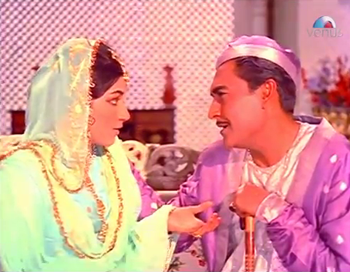 Suraiya with her brother Sikandar Mirza