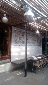 At Cafe Lota.
